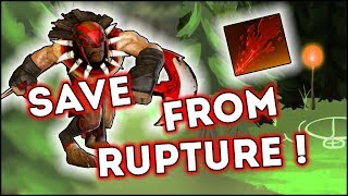 Dota 2 Tricks: Save from Rupture!