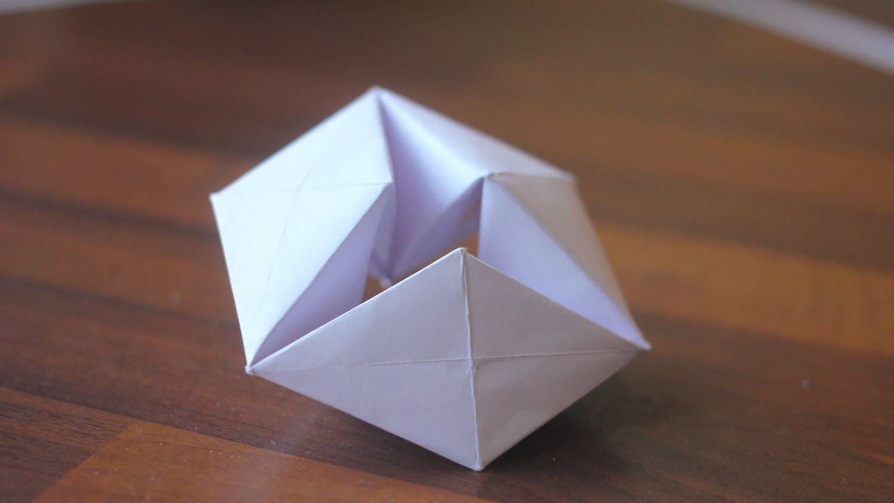 Картинки, оригами бесконечные открытки