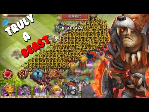 Castle Clash Why You Want Beast Tamer! (gameplay)