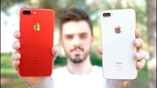 iPHONE 8 PLUS vs iPHONE 7 PLUS, ¿cual deberías COMPRAR?