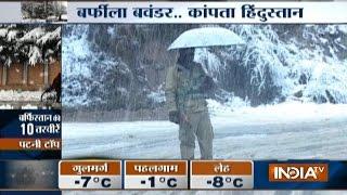 Heavy Snowfall Paralyses Himachal, Uttarakhand