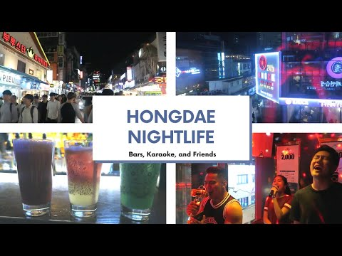 stu[diane] abroad in korea | vlog ep. 7 - Bars, Karaoke, Friends