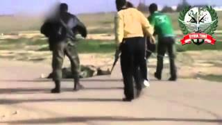 18 not for shock syrian air force destroyed a car loaded with fsa mercenary cannon fodder