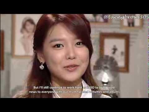 [ENG SUB] 140108 SNSD Sooyoung - Dating News Cut @ Hanbam