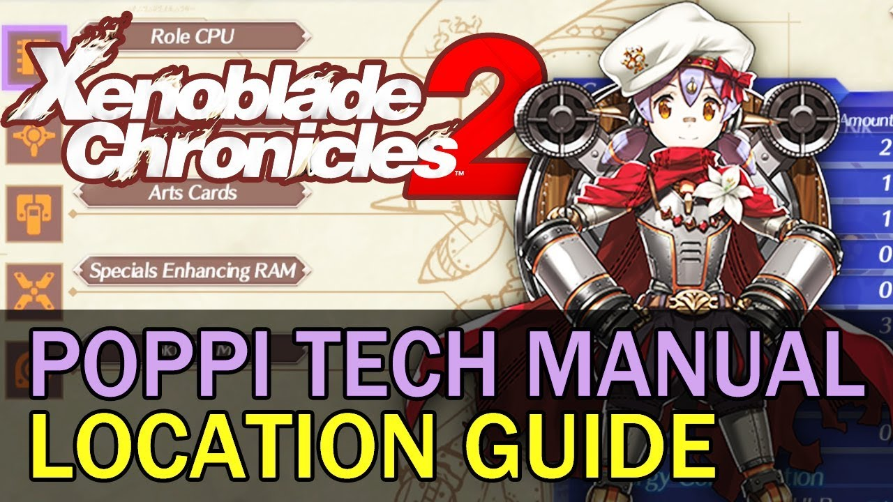 xenoblade chronicles 2 technical manual