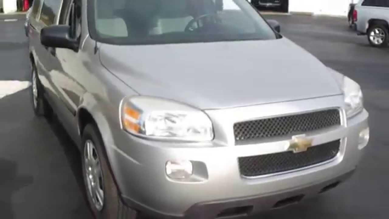 All Chevy 2000 chevy uplander : 2008 Chevy Uplander Ext Cargo Van: 32k mi, 1 Owner, V6, Auto - YouTube