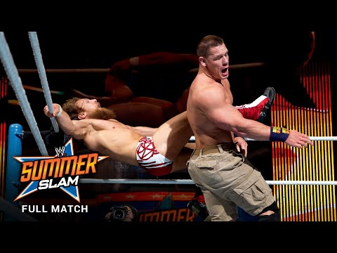 FULL MATCH - John Cena vs. Daniel Bryan – WWE Title Match: SummerSlam 2013