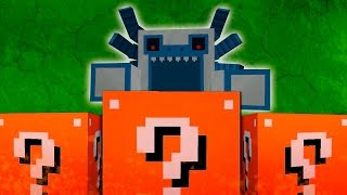 Minecraft: LUCKY BLOCKS ORANGE | ALPHA YETI | Desafío de la Suerte Especial - #51