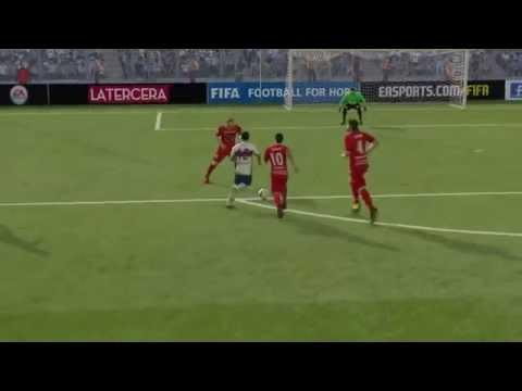 Gol Diego Rojas FIFA 15