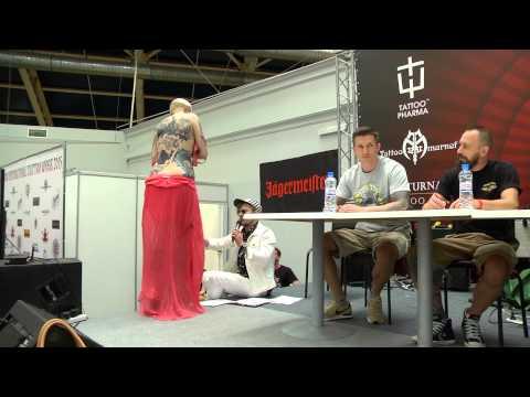 Номинация 10 татуировка в стиле Треш Полька