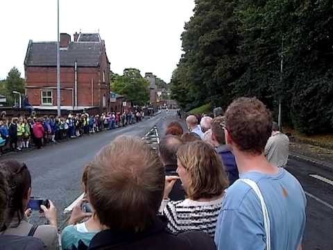2012 Tour of Great Britain - Passing through Knutsford