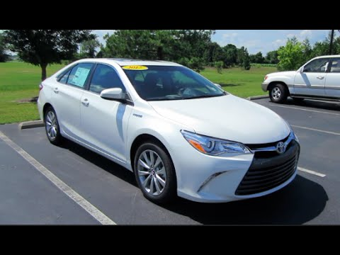 2017 Toyota Camry Hybrid Xle Full Tour Start Up At Mey You