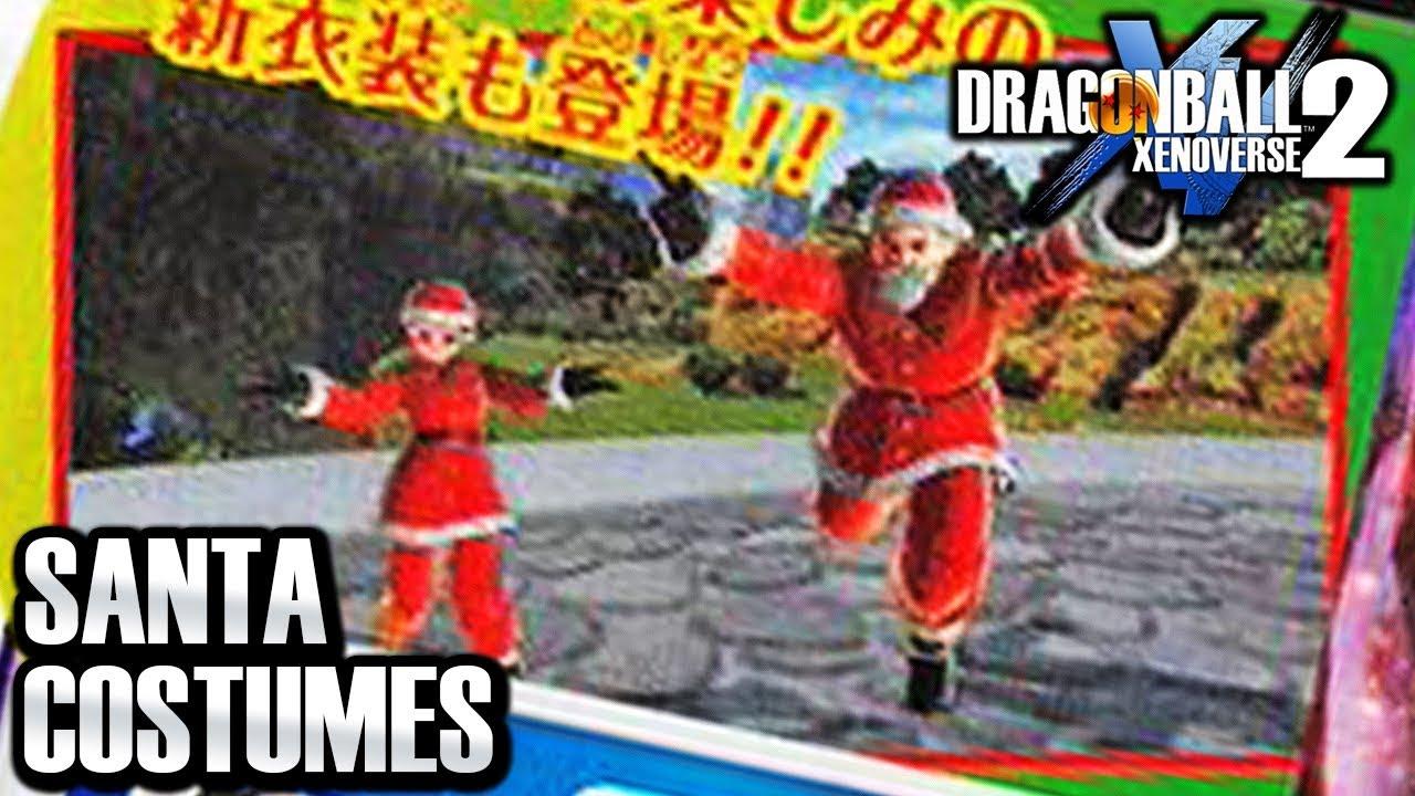 New Christmas Costumes Xenoverse 2 2020 FREE SANTA DLC COSTUMES IN XENOVERSE 2! Dragon Ball Xenoverse 2