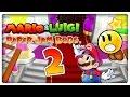 MARIO & LUIGI PAPER JAM BROS. Part 2: Rettet die Papier-Toads!