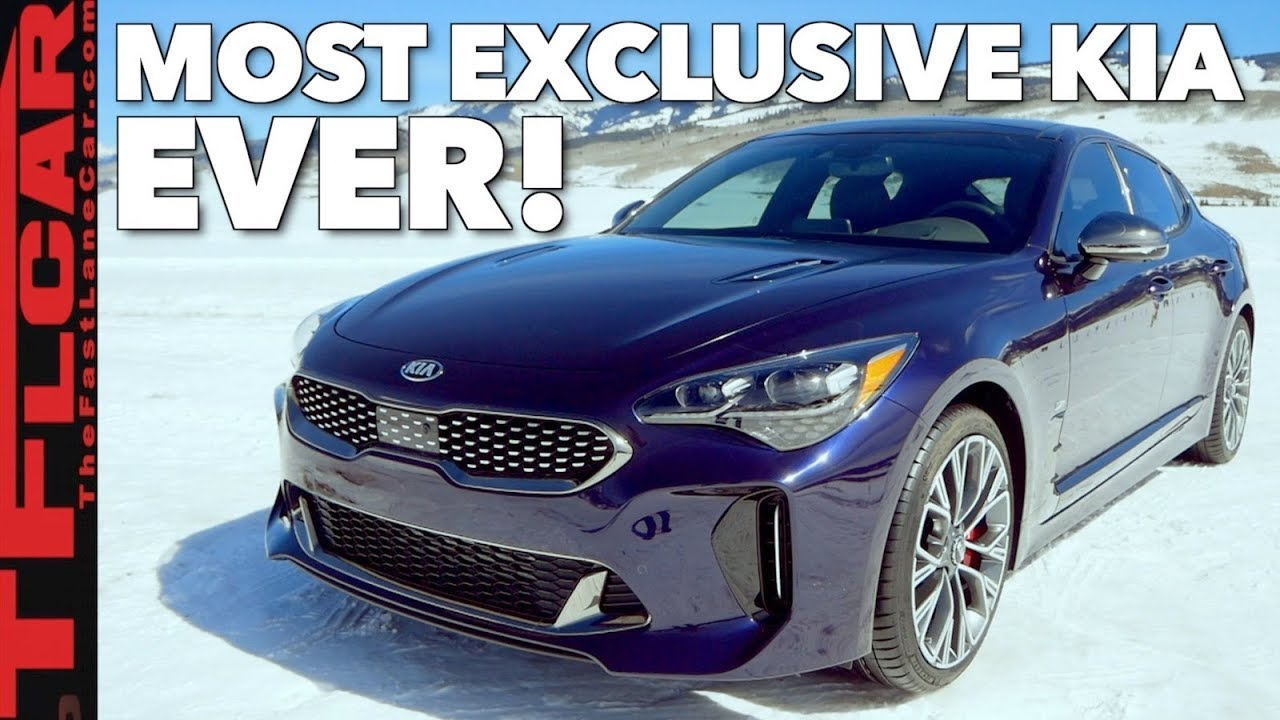 2019 Kia Stinger Gt Atlantica Only 500 Will Ever Exist Youtube