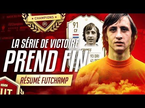 RESUME FUTCHAMPIONS #6 - LA SERIE DE VICTOIRE PREND FIN