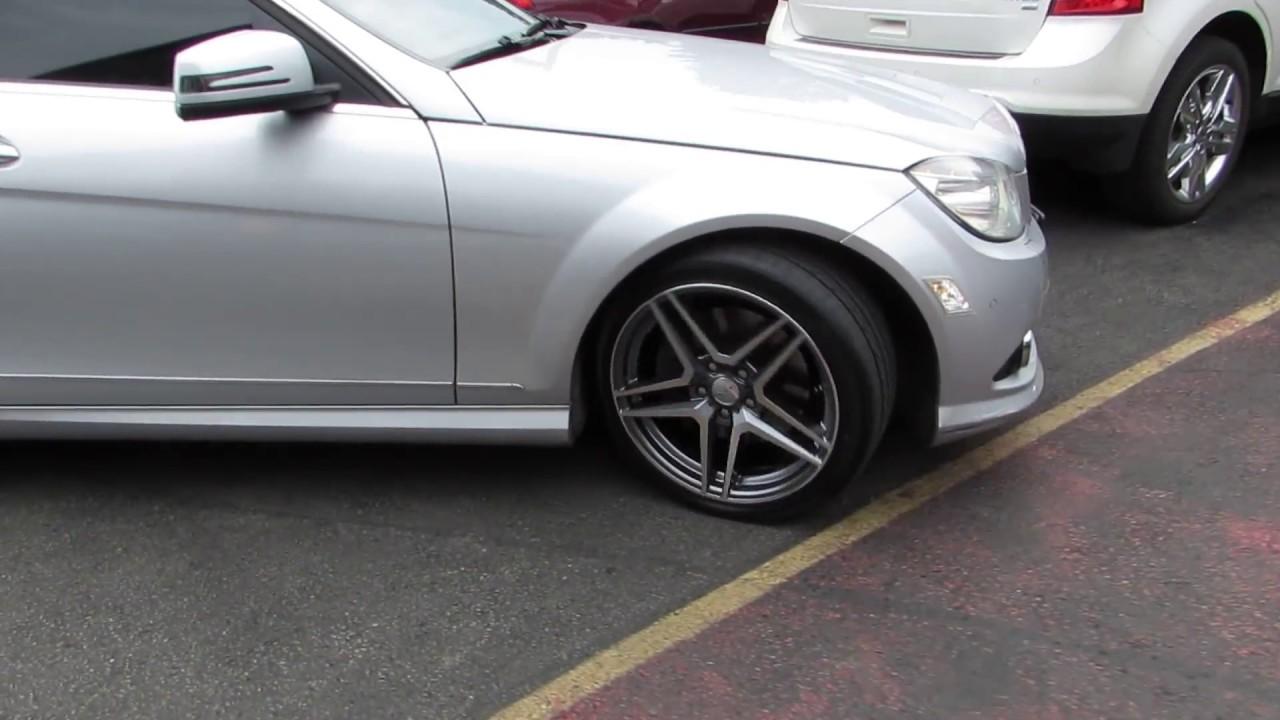 2010 Mercedes C350 With Custom 18 Inch Amg Rims Amp Tires