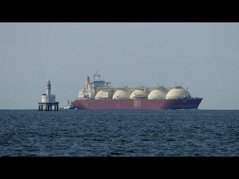 "LNG Tanker ""AL BIDDA"" 新舞子沖"