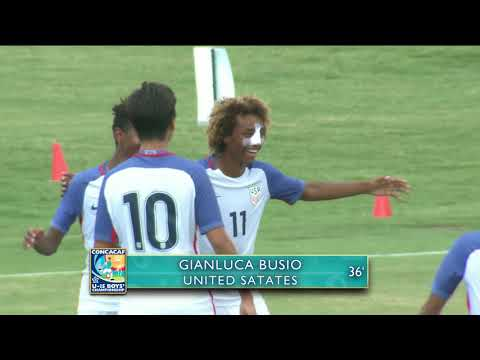 CU15 2017: United States vs Panamá Highlights