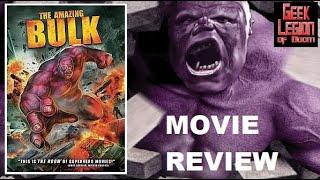 THE AMAZING BULK ( 2010 Shevaun Kastl ) Superhero Movie Review