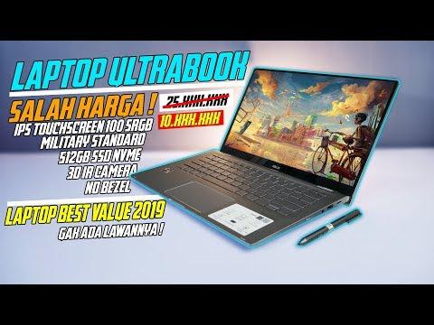 Laptop Ultrabook Tipis & Ringan Serba Bisa Yang TERLALU MURAH | Asus Zenbook Flip UM462DA Review