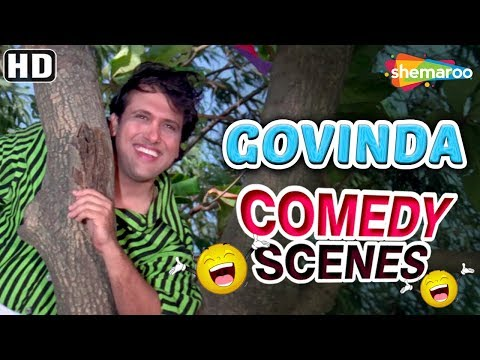 Best of Govinda from Dulhe Raja (HD) - Raveena Tandon - Johnny Lever - Kader Khan - Hit Comedy Movie