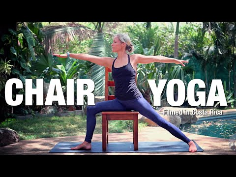 Easy Chair Yoga Class - 25 minutes - Five Parks Yoga