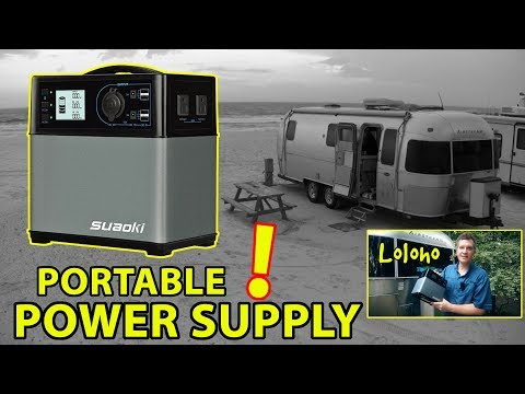 "FIRST LOOK 👀 Suaoki 400Wh ""SOLAR GENERATOR"" / PORTABLE POWER SUPPLY"