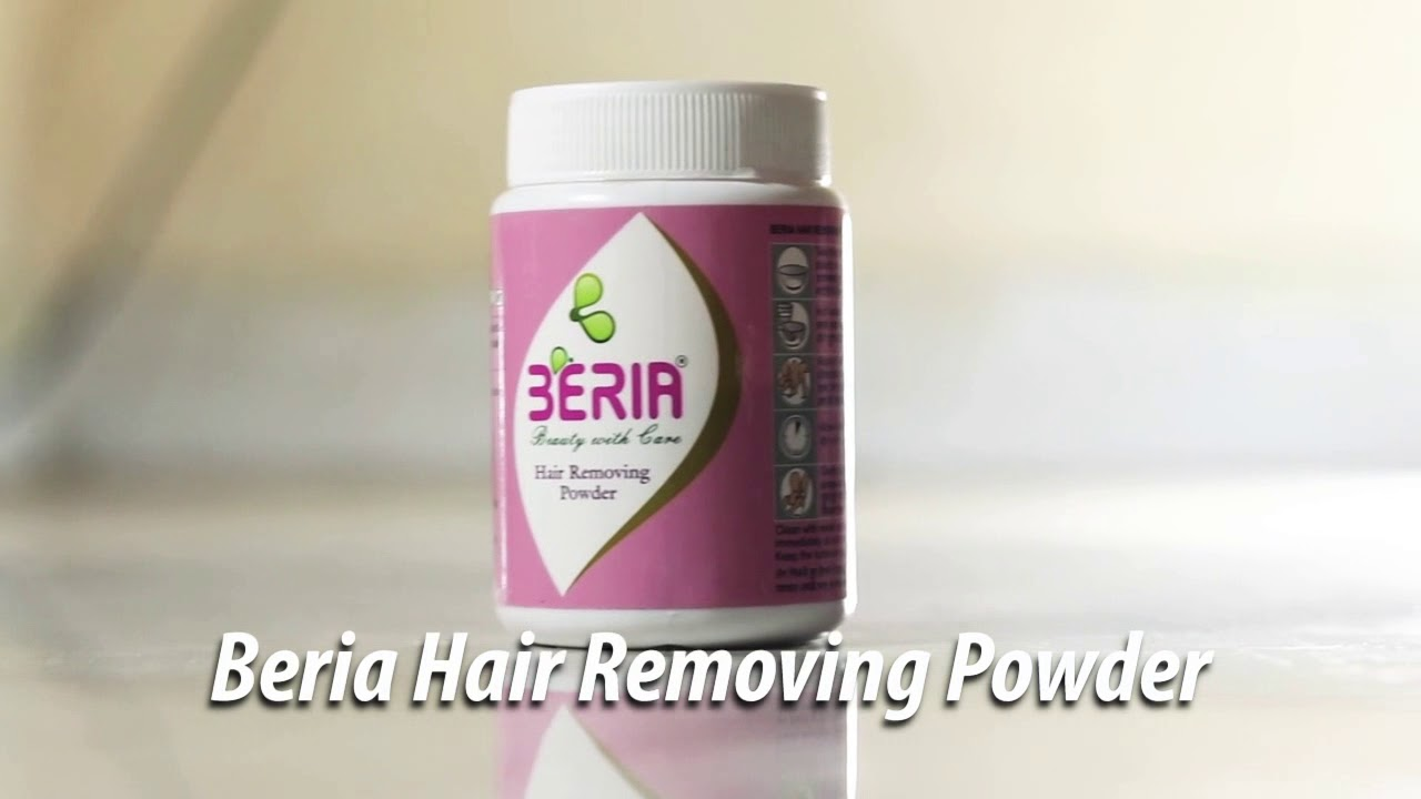 Beria Hair Removing Powder Youtube