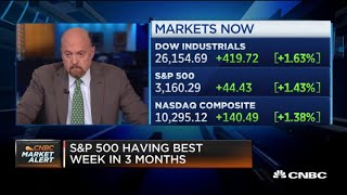 Jim Cramer on economy recovery: 'I don't think the stock market is lying here'