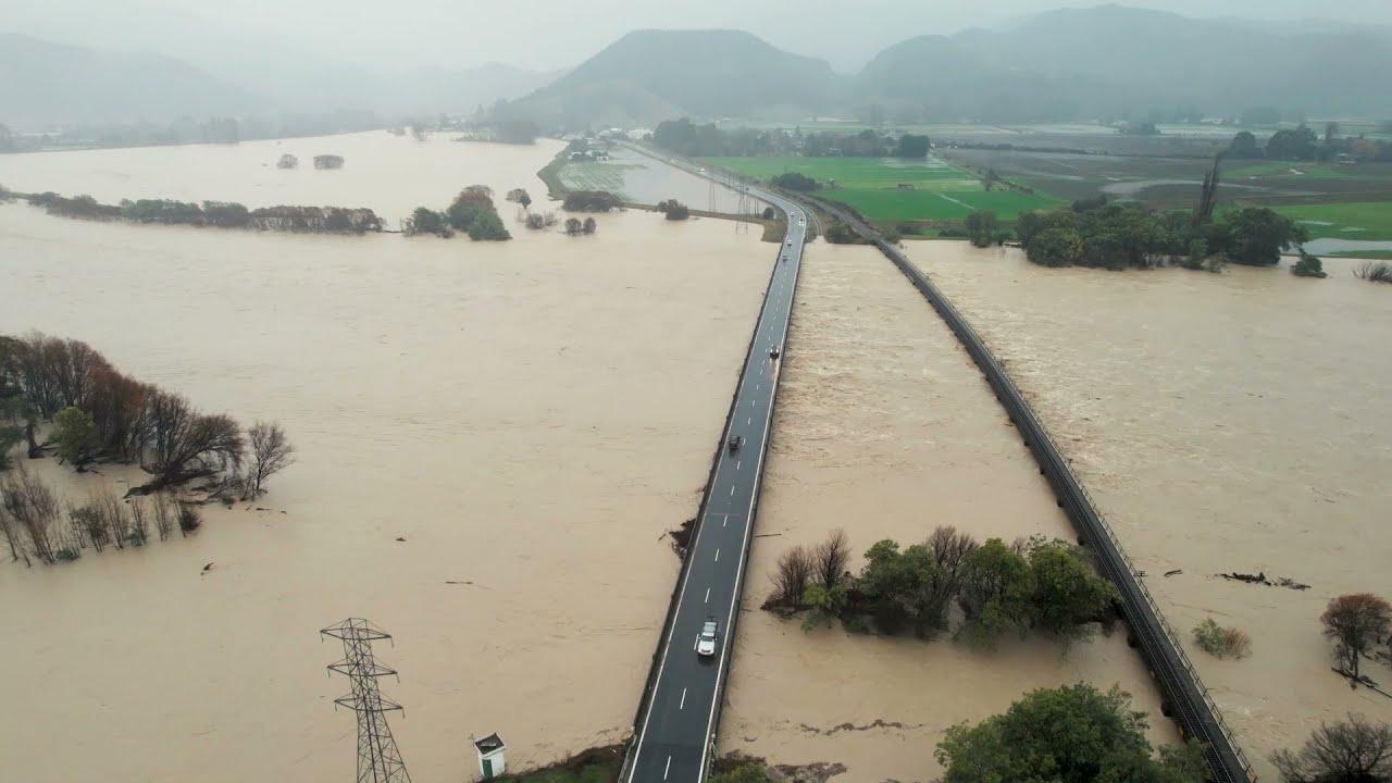 Наводнение в Новой Зеландии