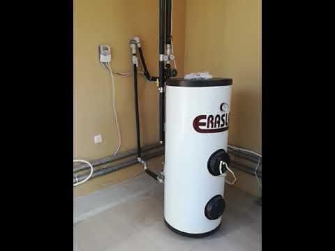 سخان شمسي نوع سكايلايت حجم ٢٠٠ لتر. Solar water heating system Skylight 200L
