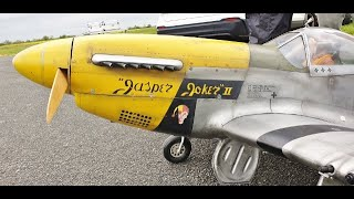 GIANT 1/4 SCALE RC P-51D MUSTANG