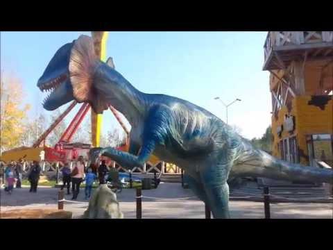 Dinosaurs in the city of Kirov film15
