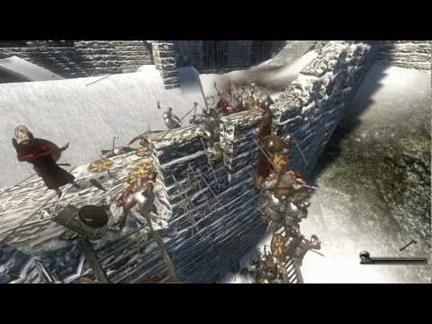 Mount & Blade Warband - E130 - Slezkh Castle Defense Awesome