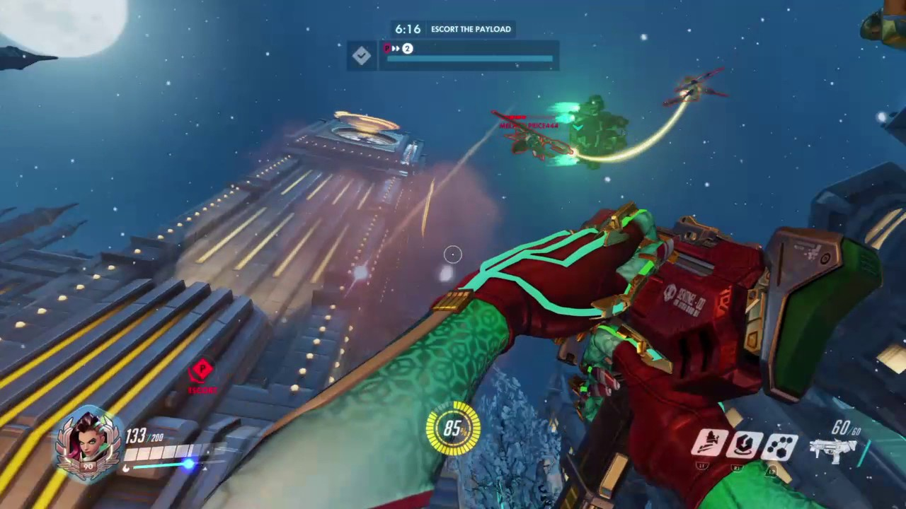 Overwatch: Origins Edition Sombra 13-0 and POTG + Christmas skin ...
