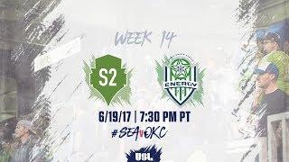 USL LIVE - Seattle Sounders FC 2 vs OKC Energy FC 6/19/17 thumbnail