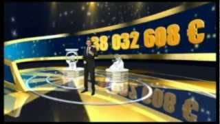 Tirage EUROMILLIONS 1er jour de Janvier 2013 3 gagnants!