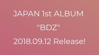 TWICE JAPAN 1st Full Album 『BDZ』 Release Details