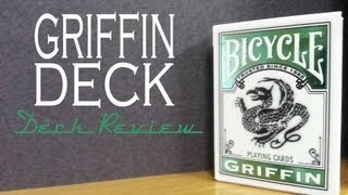 Griffin Deck - Bicycle USPCC - Playing Cards Review