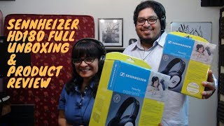 Sennheiser HD206 HD180 Full Unboxing & Product Review