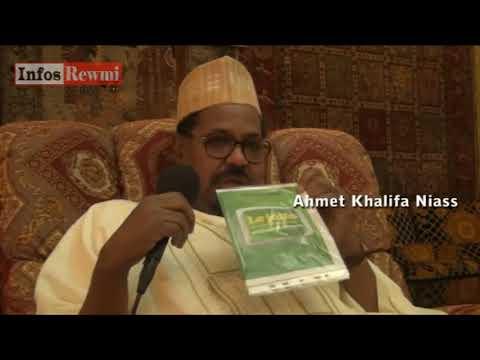 Ahmed Kh Niass se frotte à l'illustre Cheikh Anta Diop