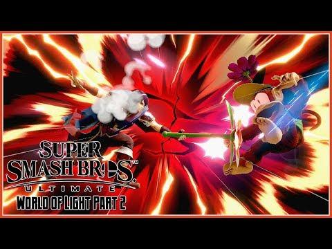 Super Smash Bros. Ultimate - Adventure Mode: World of Light Part 2 - 동영상