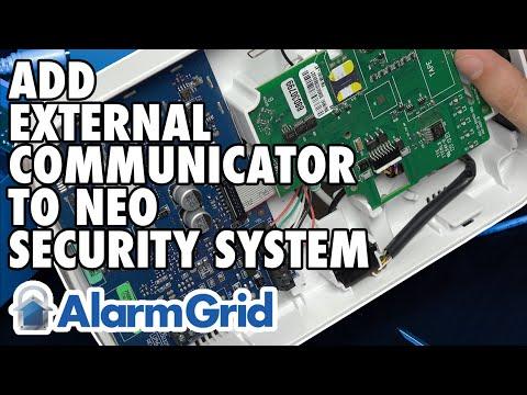 Adding An External Communicator To A DSC PowerSeries NEO