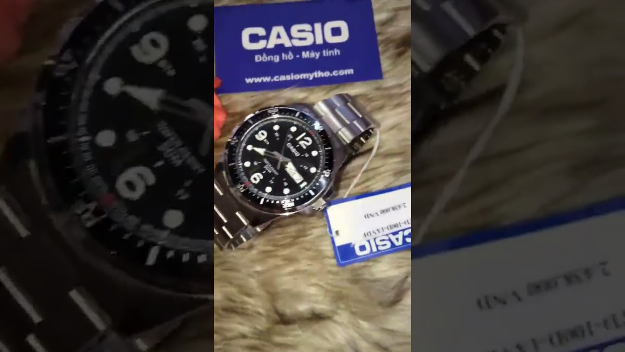 0c77bcb77ef5 Casio MTD-100D-1AVDF - YouTube