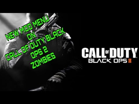 New Mod Menu On Call Of Duty Black Ops 2 Zombies Xbox One/Xbox360 (2020)