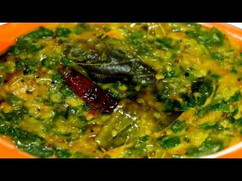 पालक-का-हरा-रंग-खोए-बीना-बनाऐं-लसूनी-पालक-दाल-|#lasooni-#palak-#dal-#recipe