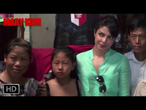 EXCLUSIVE: Priyanka Chopra goes to Manipur | Mary Kom | Priyanka Chopra | In Cinemas NOW