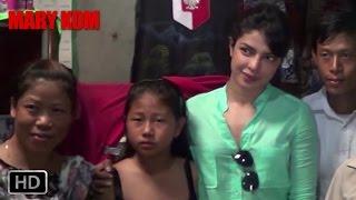 EXCLUSIVE: Priyanka Chopra goes to Manipur | Mary Kom | Priyanka Chopra | In Cinemas NOW