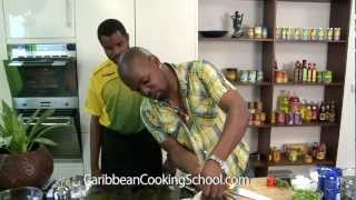 Cooking Rice and Peas - Caribbean Cooking School